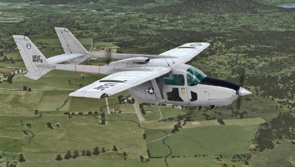 0-2 Skymaster (USAF) - 82 combat, 22 non-combat