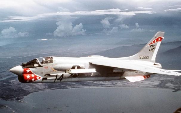 F-8 Crusader (USN, USMC) - 76 combat, 71 non-combat