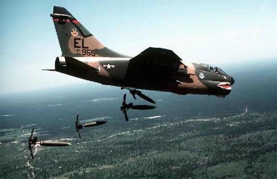 A-7D Corsair (USAF, USN) - 59 combat, 47 non-combat