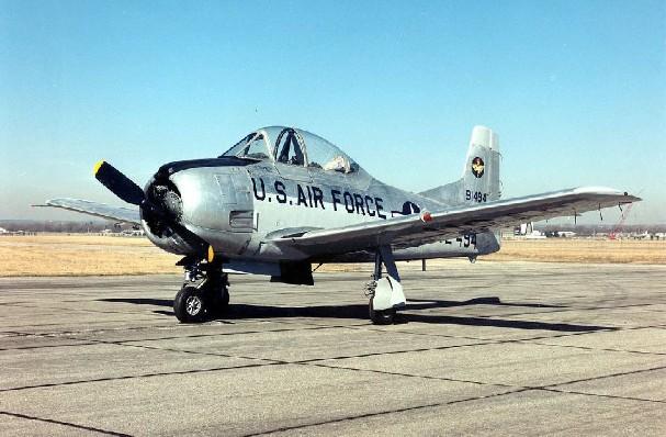 T-28 Trojan (USAF) - 23 lost
