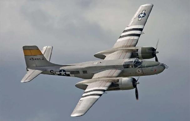 A-26 Invader (USAF) - 22 combat