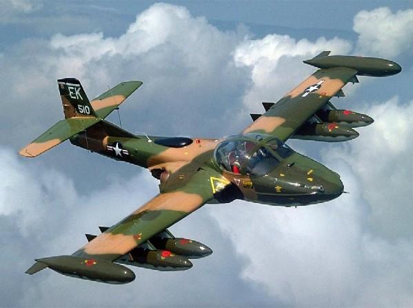 A-37 Dragonfly (USAF, ARVN) - 22 combat
