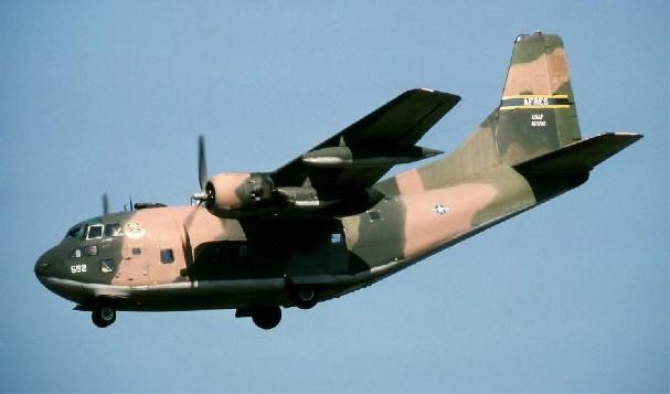 C-123 Provider - 21 combat, 32 non-combat