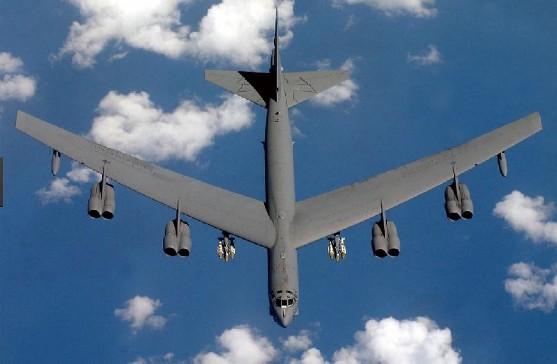 B-52 Stratofortress (USAF) - 17 combat, 14 non-combat