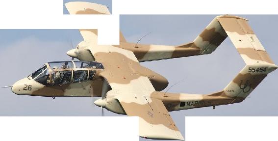 OV-10 Bronco (USMC) - 10 lost