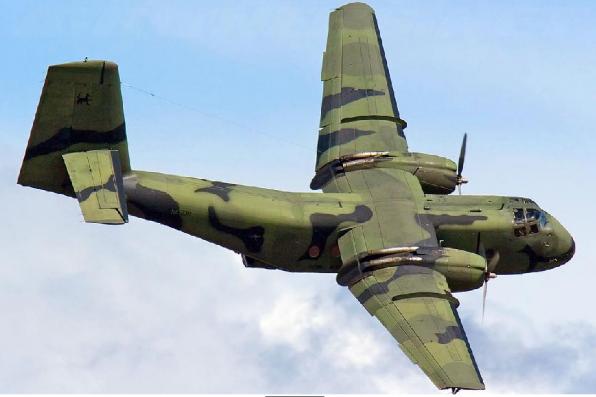 C-7 Caribou (USAF) - 9 combat, 10 non-combat