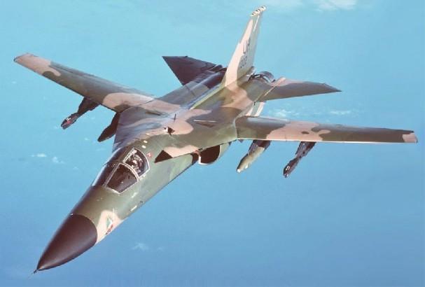 F-111A Aardvark (USAF) - 6 combat, 5 non-combat