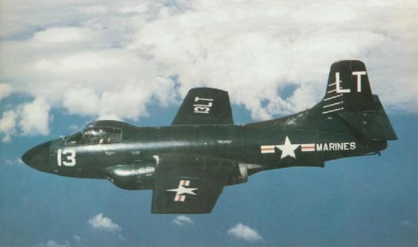 EF-10 Skyknight (USMC) - 5 lost