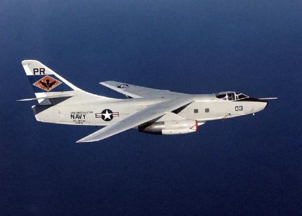 A-3 Skywarrior - 2 combat, 5 non-combat