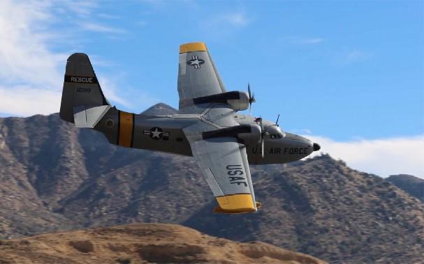 HU-16 Albatross - 2 combat, 2 non-combat