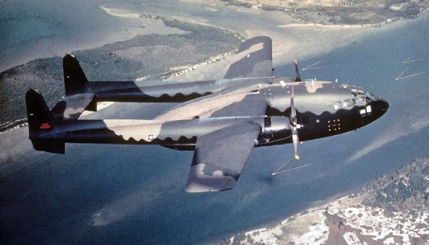 AC-119 Shadow (USAF) - 2 combat, 4 non-combat