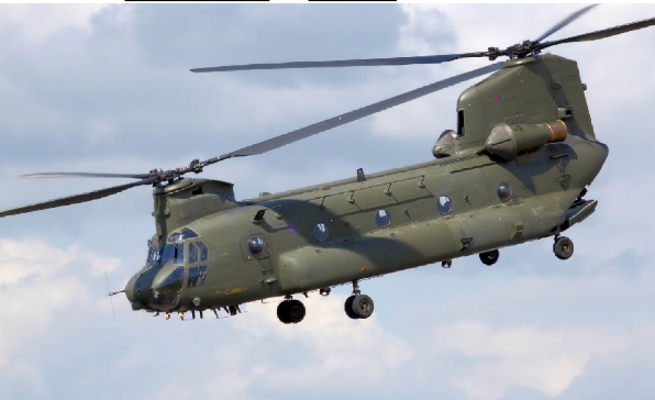 CH-47 Chinook (army) - 132 lost