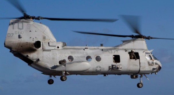 CH-46D Sea Knight (USMC) - 109 lost