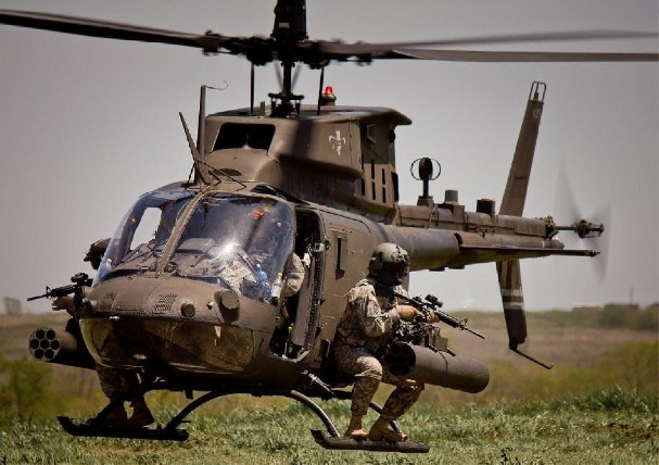 OH-58 Kiowa (ARMY) - 45 lost