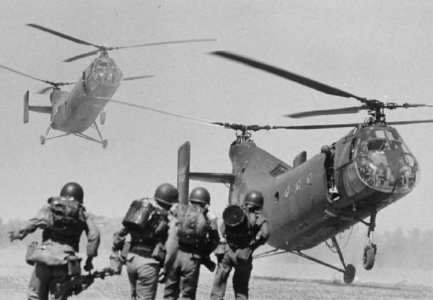 CH-21 C Shawnee (ARMY) - 14 lost
