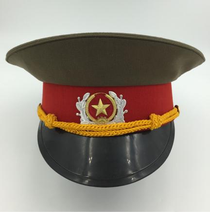 NVA OFFICERS VISOR HAT.